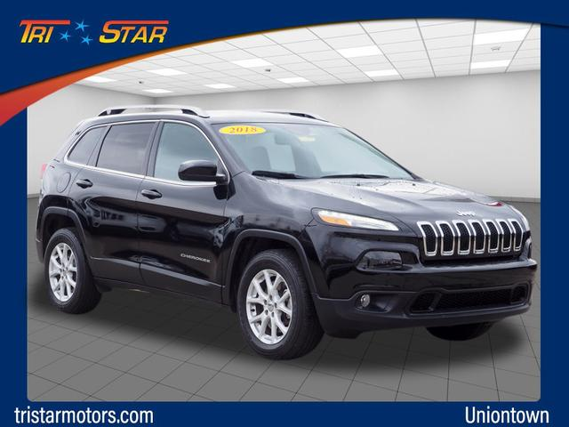 Pre-Owned 2018 Jeep Cherokee Latitude