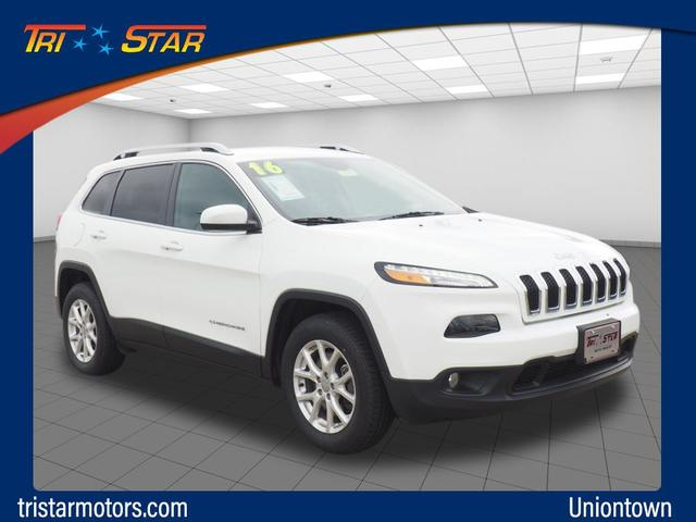 Pre-Owned 2016 Jeep Cherokee Lattitude