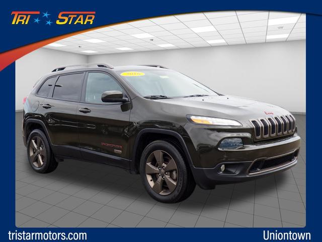 Pre-Owned 2016 Jeep Cherokee Latitude 75th Anniversary
