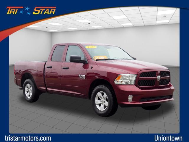 Pre-Owned 2017 Ram 1500 Express 4x4 Quad Cab 6'4 Box