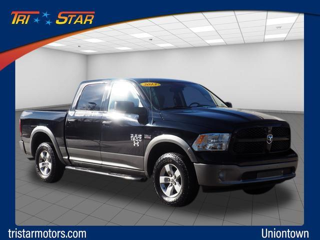 Pre-Owned 2013 Ram 1500 4WD Crew Cab 140.5 Outdoorsman