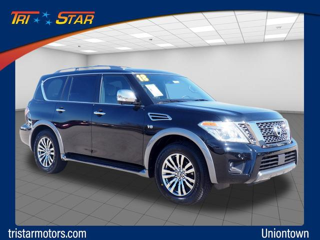 Pre-Owned 2018 Nissan Armada Platinum 4WD