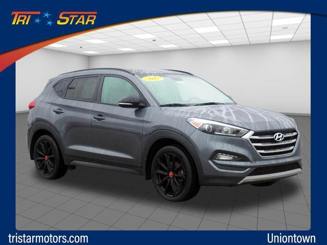Pre-Owned 2017 Hyundai Tucson Night AWD