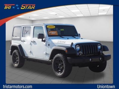 Pre-Owned 2018 Jeep Wrangler Unlimited JK Willys Wheeler 4x4